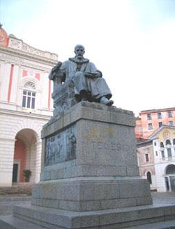 Statua di Bernardino Telesio