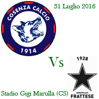cosenza - frattese tim cup 2016