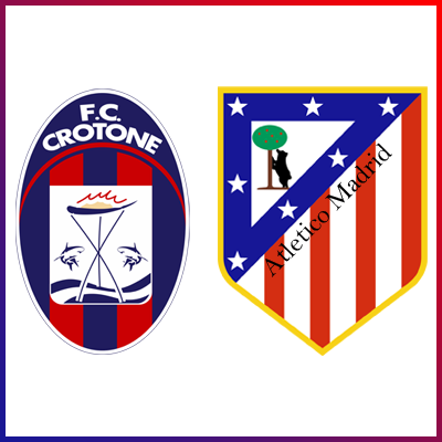 Locandina Crotone Atletico Madrid