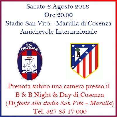 Crotone - Atletico Madrid