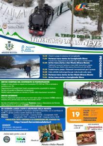 Treno della Sila itinerario della neve 19 Febbraio 2017