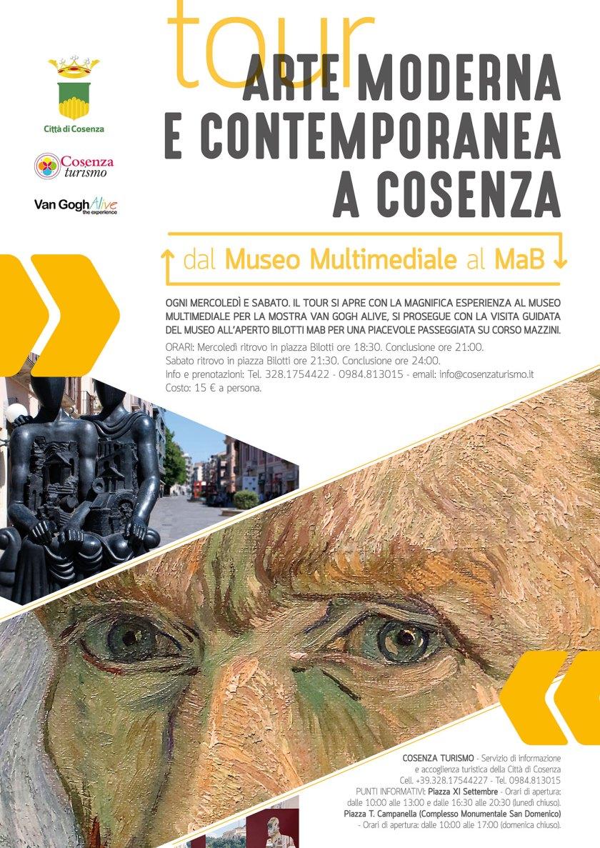 TOUR MUSEO MUSLTIMEDIALE E MAB LOCANDINA